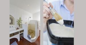 peinture étanche pour peindre douche et salle de bain sans carrelage HydroActiv de V33