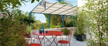 Une cuisine ext rieure pour l 39 t c 39 est le top i d co cool - Deco jardin fer rouille ...