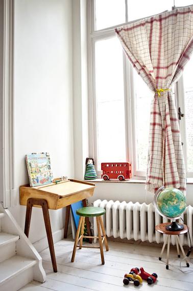 Le bureau d 39 ecolier vintage les enfants adorent for Chambre retro design