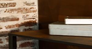 peinture meuble effet rouillé de Maison déco. Peinture à effet pouvant être appliquée sur les murs