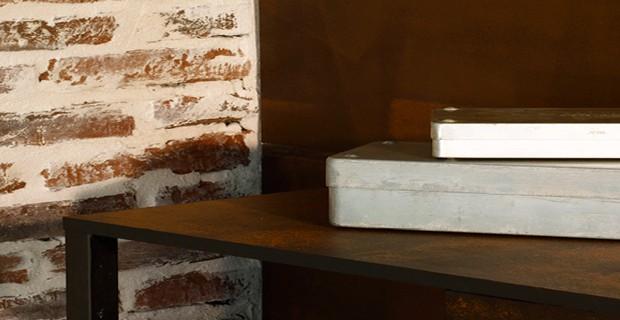 La peinture effet rouille sur un meuble c 39 est top for Peindre un meuble cire