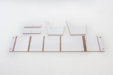chaise chambre enfant en carton recyclé, plan de montage sans colle ni vis