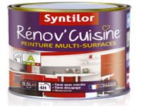 Rénov'Cuisine Syntilor pour peindre sur carrelage, meubles de cuisine et plan de travail