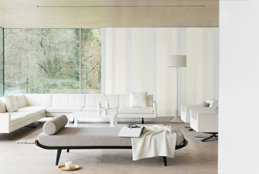 Quelle couleur pour un salon au top deco cool for Salon blanc et beige design