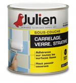 Sous-couche carrelage Julien à appliquer avant de repeindre du carrelage murs cuisine et salle de bain et d'appliquer une peinture acrylique