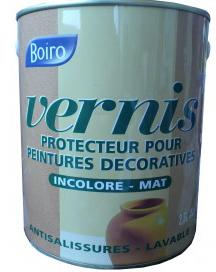 Vernis protecteur incolore Boiro à appliquer sur carrelage peint avec peinture à effet ou peinture acrylique classique