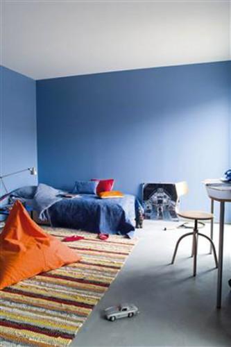 Les concepteurs artistiques deco chambre garcon bleu et gris - Deco chambre gris bleu ...