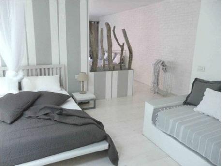 16 d co de chambre grise pour une ambiance zen deco cool - Deco salle de bain gris et blanc ...