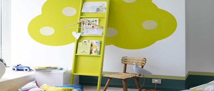 D co chambre enfant la tendance couleurs de la rentr e - Couleur peinture chambre garcon ...