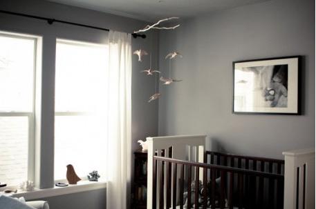 Decoration chambre bebe peinture murale gris souris d coration maison et id es d co peinture for Peinture grise chambre
