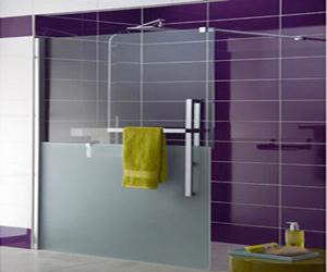 Douche italienne paroi verre transparent - Paroi de verre douche italienne ...