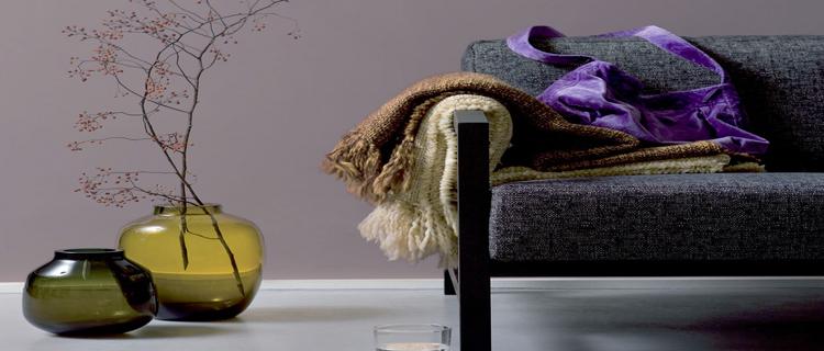 Les couleurs de peinture tendance pour le salon, la chambre et la cuisine hiver 2013 vu par Dulux Valentine