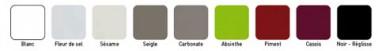 Pour repeindre des meubles de cuisine le Nuancier peinture Rénovation meubles de cuisine V33. 9 couleurs disponibles finition satin
