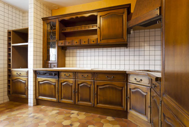 rénovation cuisine photo avant peinture pour meubles v33 - Meuble Cuisine Rustique