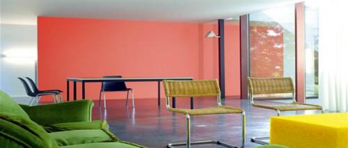 Peinture salon couleur peinture tendance d coration - Couleur peinture tendance salon ...
