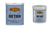 Béton ciré minéral Libéron pour meuble en bois vendu en pot de Litre, imperméabilisant vendu en pot de 0.25 litre
