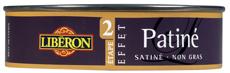 Effet patine aspect satin de Libéron à appliquer en touches légères sur Peinture à l'ancienne, Lustrer au chiffon de laine après 2 heures