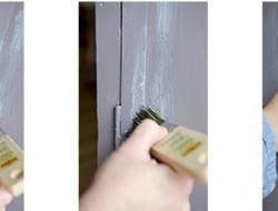Repeindre une armoire avec un effet patine lib ron d co cool - Peinture effet patine ...