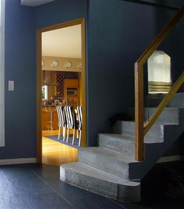 d coration couleur entree. Black Bedroom Furniture Sets. Home Design Ideas