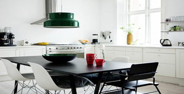 la cuisine adopte la couleur blanche d co cool. Black Bedroom Furniture Sets. Home Design Ideas