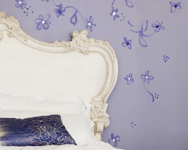 deco chambre couleur lilas et blanc ivoire. Black Bedroom Furniture Sets. Home Design Ideas