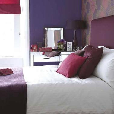 8 id es peinture pour une chambre d 39 adulte avec du violet for Voir deco chambre