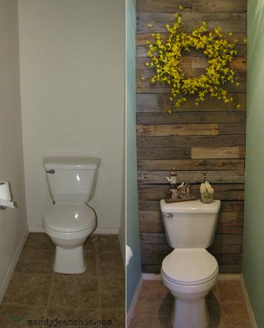 décoration murale de wc