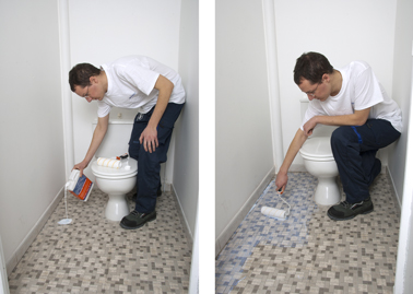 Faire ragreage sur carrelage wc ragreage facile bostik for Ragreage avant carrelage