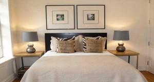 Envie de faire de votre petite chambre, une chambre de maître ? Inspirez-vous de ces idées déco chambre pour agrandir une petite chambre avec des astuces de pro.