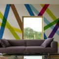 Papier peint panoramique pour deco salon design
