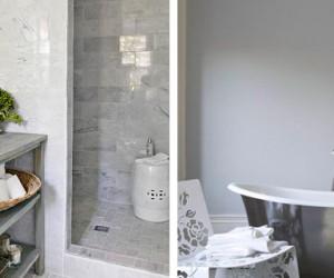 Couleur peinture murs sol carrelage meuble d co cool - Acheter une salle de bain ...