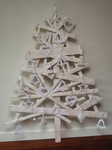 Sapin blanc bois sapin noel est plus beau montrez 489686 - Fabriquer un sapin de noel en bois ...
