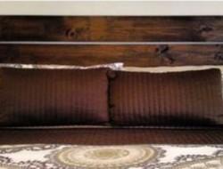 idee deco tete de lit en bois