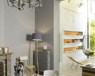 10 d co salle manger grise pour s 39 inspirer deco - Deco salle a manger peinture ...
