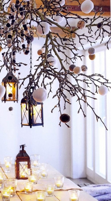 Guirlandes de no l a faire soi m me c 39 est la tendance d co - Idee de decoration exterieur pour noel ...