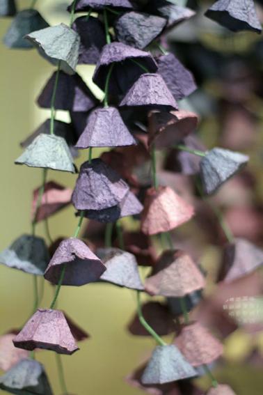 guirlandes de noël a faire soi-même c'est la tendance déco - Decoration Jardin A Faire Soi Meme