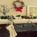 decoration noel guirlande d'étoile de pompons ou papier à faire soi-même