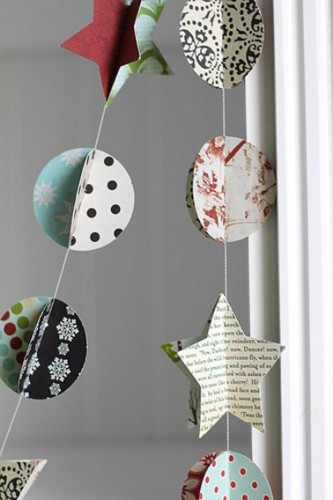 Deco noel a faire soi meme pictures to pin on pinterest - Guirlande de noel a fabriquer ...