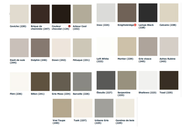 D co couleur taupe ral creteil 2833 creteil sherwin for Peinture colours nuancier