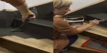 mode d'emploi et peinture pour peindre un escalier en bois ciré, vernis, vitrifié ou statifié
