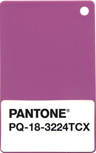 Carte nuance radian orchid, couleur Pantone 2014 pour décoration maison et peinture
