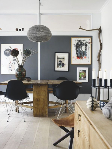 D co salon gris id es couleur et photo pour s 39 inspirer d co cool for Deco eetkamer idee