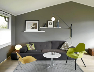 Deco Salon Gris Idees Couleur Et Photo Pour S Inspirer
