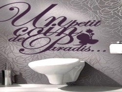 idee decoration toilettes gris