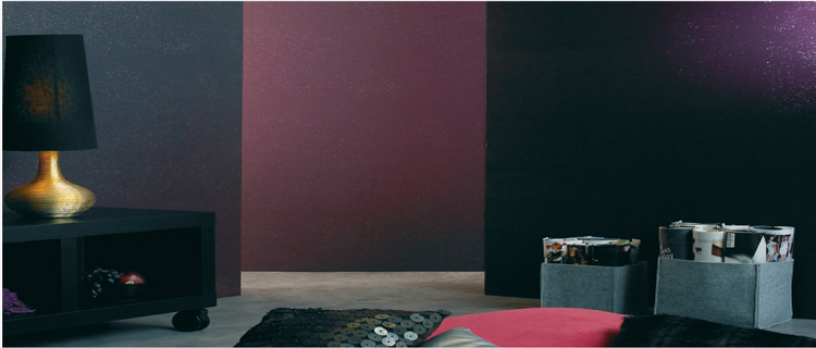 peinture a effet paillettes pour faire briller vos murs. Black Bedroom Furniture Sets. Home Design Ideas