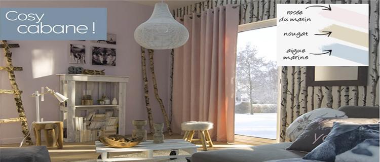 D co salon le nouveau carnet de style de castorama - Decoration pour le salon ...