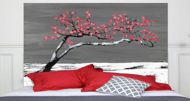 Fabriquer une tete de lit idee deco a faire soi meme pour - Tete de lit mademoiselle tiss ...
