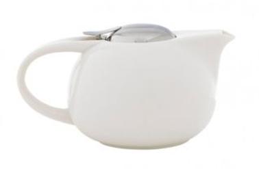 théière en céramique peinte couvercle et filtre a thé intégré en acier inox de chez Fly