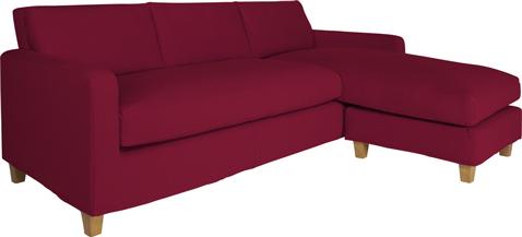 Ce canapé d'angle réversible Chester d'Habitat est disponible en 5 coloris de tissu