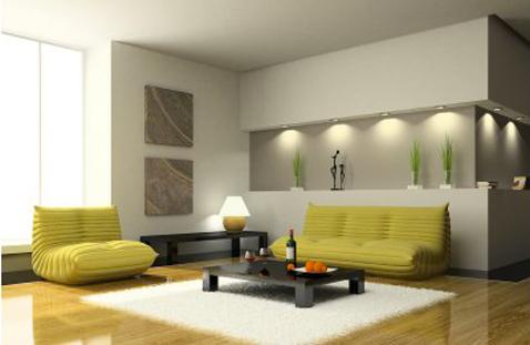 décoration salon en u